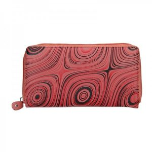 Dámská kožená peněženka DD Anekta Soňa – červená