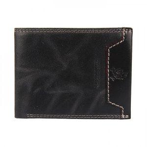 Pánská kožená peněženka Harvey Miller Bill – černá