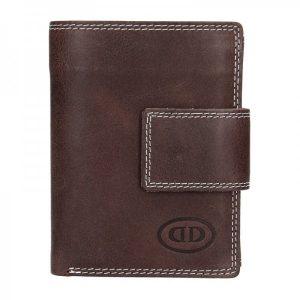 Pánská kožená peněženka DD Anekta Dalibor – hnědá