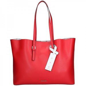 Dámská kabelka Calvin Klein Livien – červená