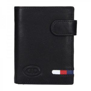 Pánská kožená peněženka DD Anekta Vít – černá