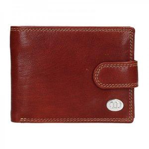 Pánská kožená peněženka DD Anekta Samuel – koňak