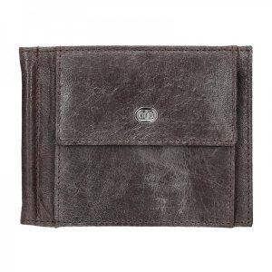 Pánská kožená peněženka DD Anekta Milan – hnědá