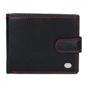 Pánská kožená peněženka DD Anekta Maxim – černá