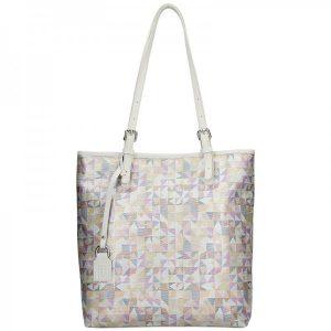 Dámská kožená kabelka Facebag Nora – béžová