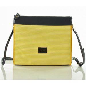 Luxusní dámské crossbody Monnari 6040Lc – žlutá