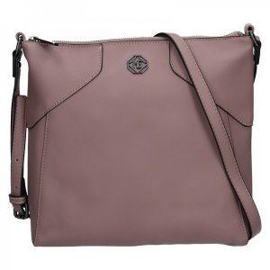 Dámská kabelka Marina Galanti Mila – růžová