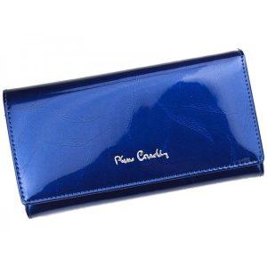 Dámská kožená peněženka Pierre Cardin Milena – modrá