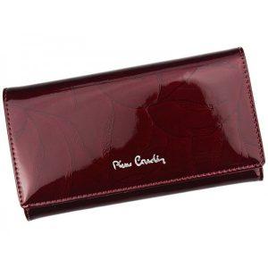 Dámská kožená peněženka Pierre Cardin Milena – vínová