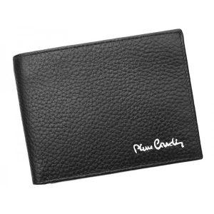 Pánská kožená peněženka Pierre Cardin Donoven – černá