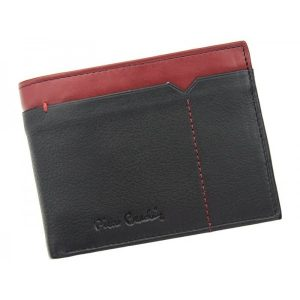Pánská kožená peněženka Pierre Cardin Norel – černo-červená