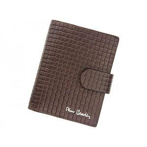 Pánská kožená peněženka Pierre Cardin Gussepe – hnědá