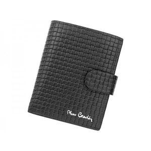Pánská kožená peněženka Pierre Cardin Gussepe – černá