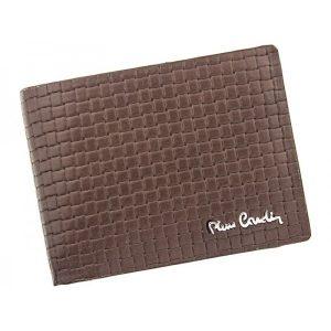 Pánská kožená peněženka Pierre Cardin Juan – hnědá