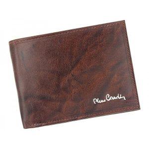 Pánská kožená peněženka Pierre Cardin Henri – hnědá