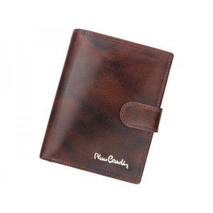 Pánská kožená peněženka Pierre Cardin Fredderic – hnědá