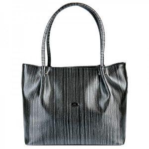 Dámská kabelka Hexagona 743965 – černo-šedá
