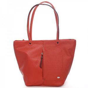 Dámská kabelka David Jones Marny – červená