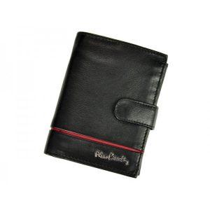 Pánská kožená peněženka Pierre Cardin Philippe – černo-červená
