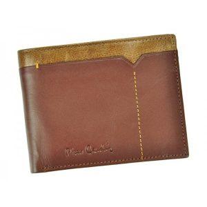 Pánská kožená peněženka Pierre Cardin Cactus – hnědá