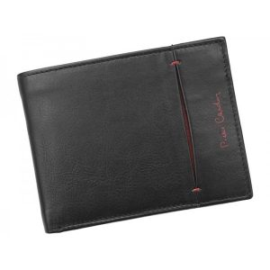 Pánská kožená peněženka Pierre Cardin Elvin – černo-červená