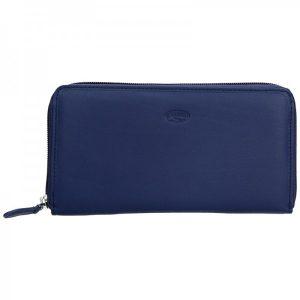 Dámská kožená peněženka Katana Olga – fialová