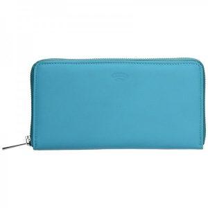 Dámská kožená peněženka Katana Olga – modrá