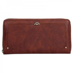 Dámská kožená peněženka Katana Paula – hnědá