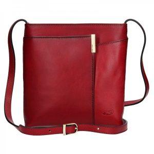 Dámská crosbody kabelka Katana Marta – červená