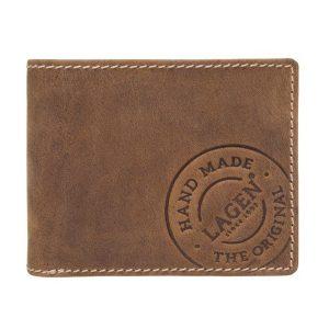 Pánská kožená peněženka Lagen Thor – hnědá