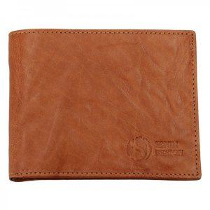 Pánská kožená peněženka SendiDesign SNW6946 – světle hnědá