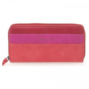 Dámská peněženka Tamaris Khema Big Zip – červená