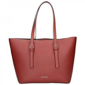 Dámská kabelka Calvin Klein Fiona – vínová