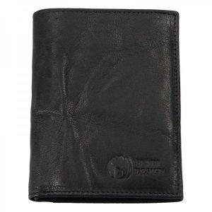 Pánská kožená peněženka SendiDesign SNW6945 – černá