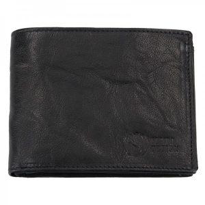 Pánská kožená peněženka SendiDesign SNW6856 – černá