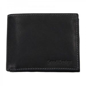 Pánská kožená peněženka SendiDesign 6001 (P) VT – černá
