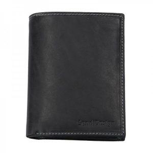 Pánská kožená peněženka SendiDesign 5741 (P) VT – černá