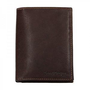Pánská kožená peněženka SendiDesign 5602 (P) VT – hnědá