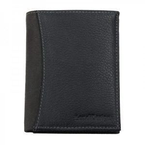 Pánská kožená peněženka SendiDesign 5502 FH – černá