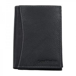 Pánská kožená peněženka SendiDesign 5501 FH – černá