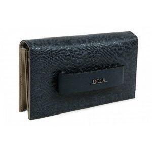 Dámská peněženka Doca 64486 – modrá