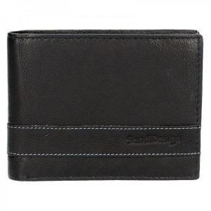 Panská kožená peněženka SendiDesign 48 – černá