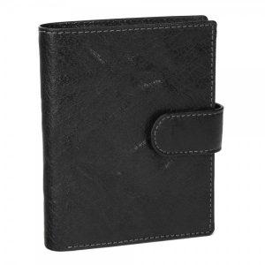 Pánská kožená peněženka SendiDesign 1047L – černá