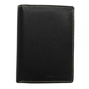Pánská kožená peněženka SendiDesign Walt – černá