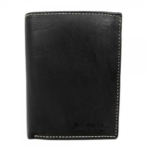Pánská kožená peněženka SendiDesign Deren – černá