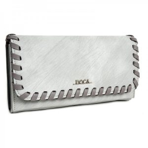 Dámská peněženka Doca 64653 – šedá