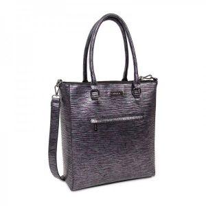 Dámská kabelka Doca 12941 – fialová