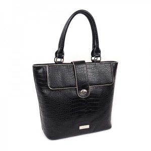 Dámská kabelka Doca 13052 – černá