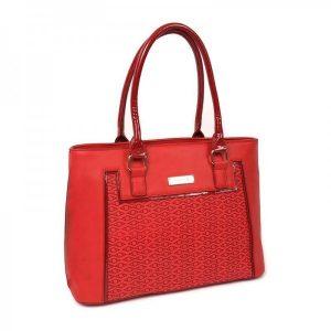 Dámská kabelka Doca 13106 – červená