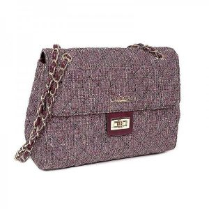Dámská kabelka Doca 12599 – fialová
